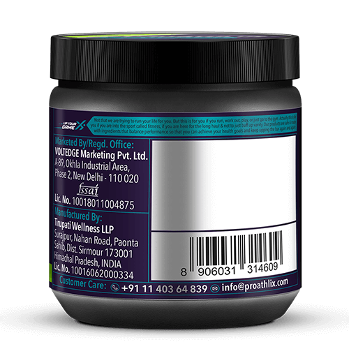 Proathlix L-Glutamine Green Apple 250gm