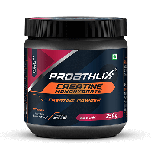 Proathlix Creatine Monohydrate Fruit Punch Flavour 250G