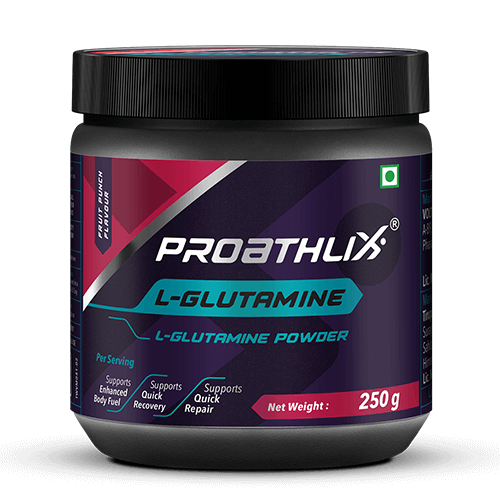 Proathlix L-Glutamine Fruit Punch Flavour 250G