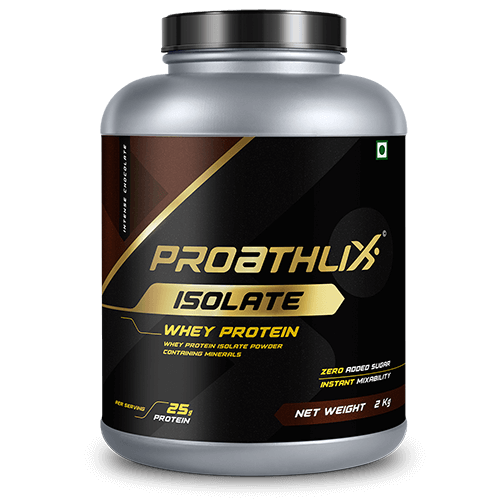 Proathlix Isolate Intense Chocolate Flavor 2 Kg