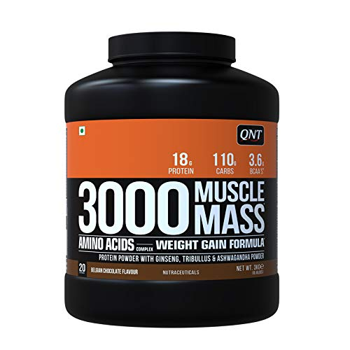 MUSCLE MASS 3000 B.CHOCOLATE	3 kg