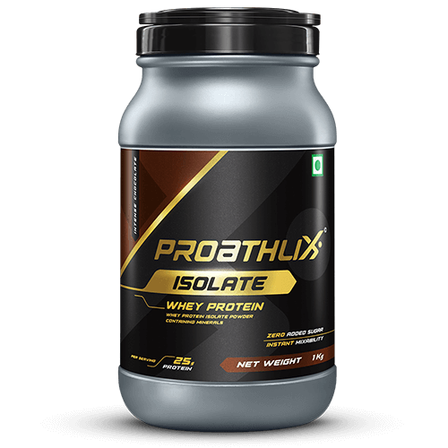 Proathlix Isolate Intense Chocolate Flavor 1 Kg